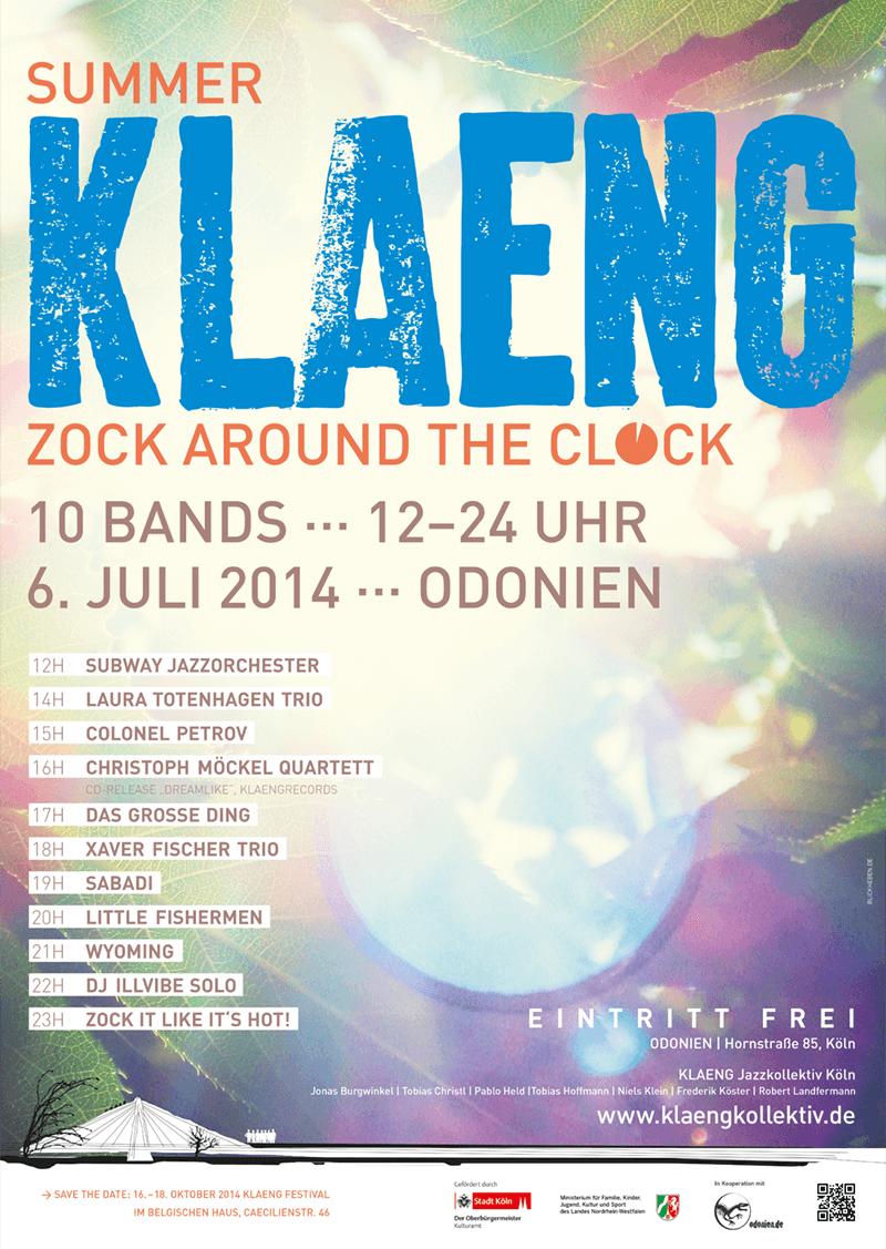 2014_SummerKLAENG_Plakat