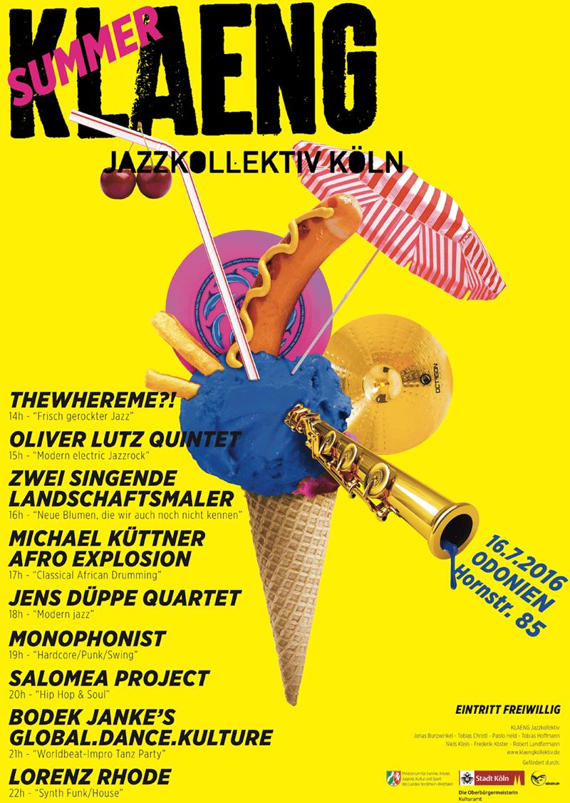 2016_SummerKLAENG_Plakat