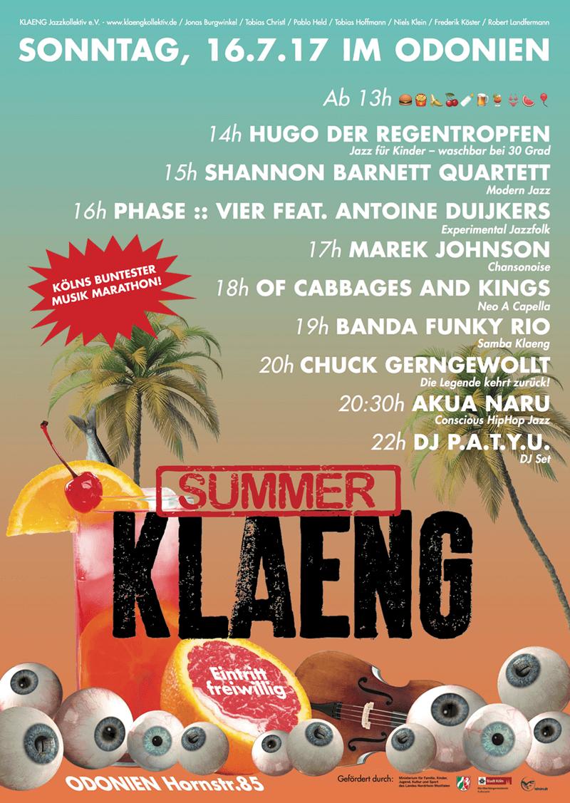 2017_SummerKLAENG_Plakat