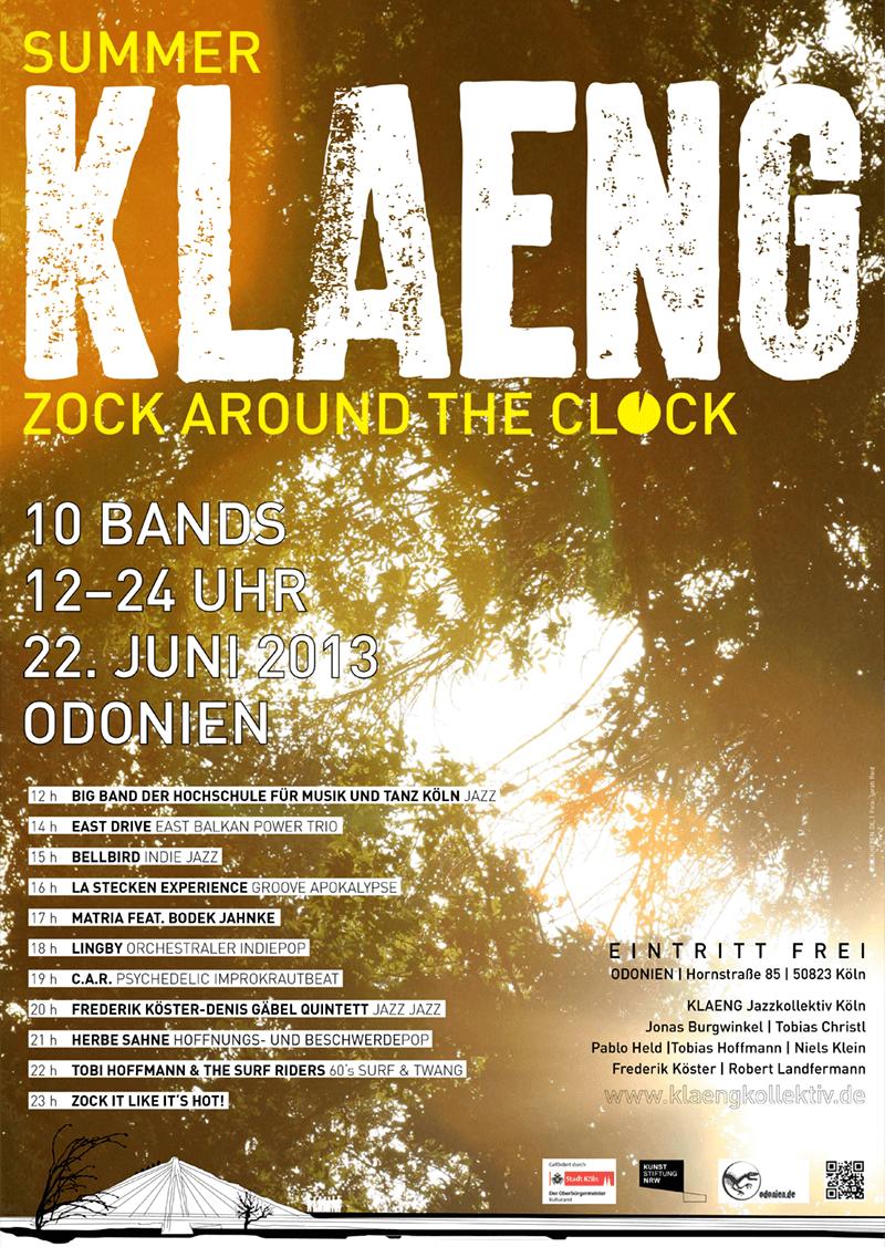 2013_SummerKLAENG_Plakat