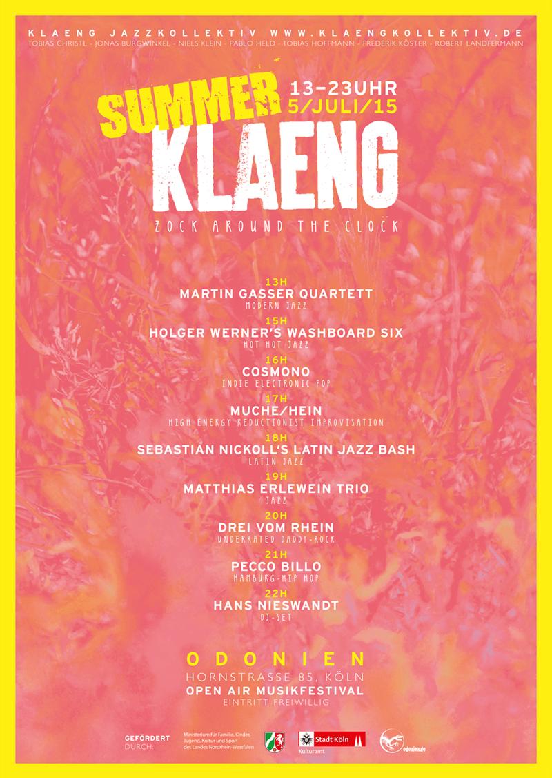 2015_SummerKLAENG_Plakat