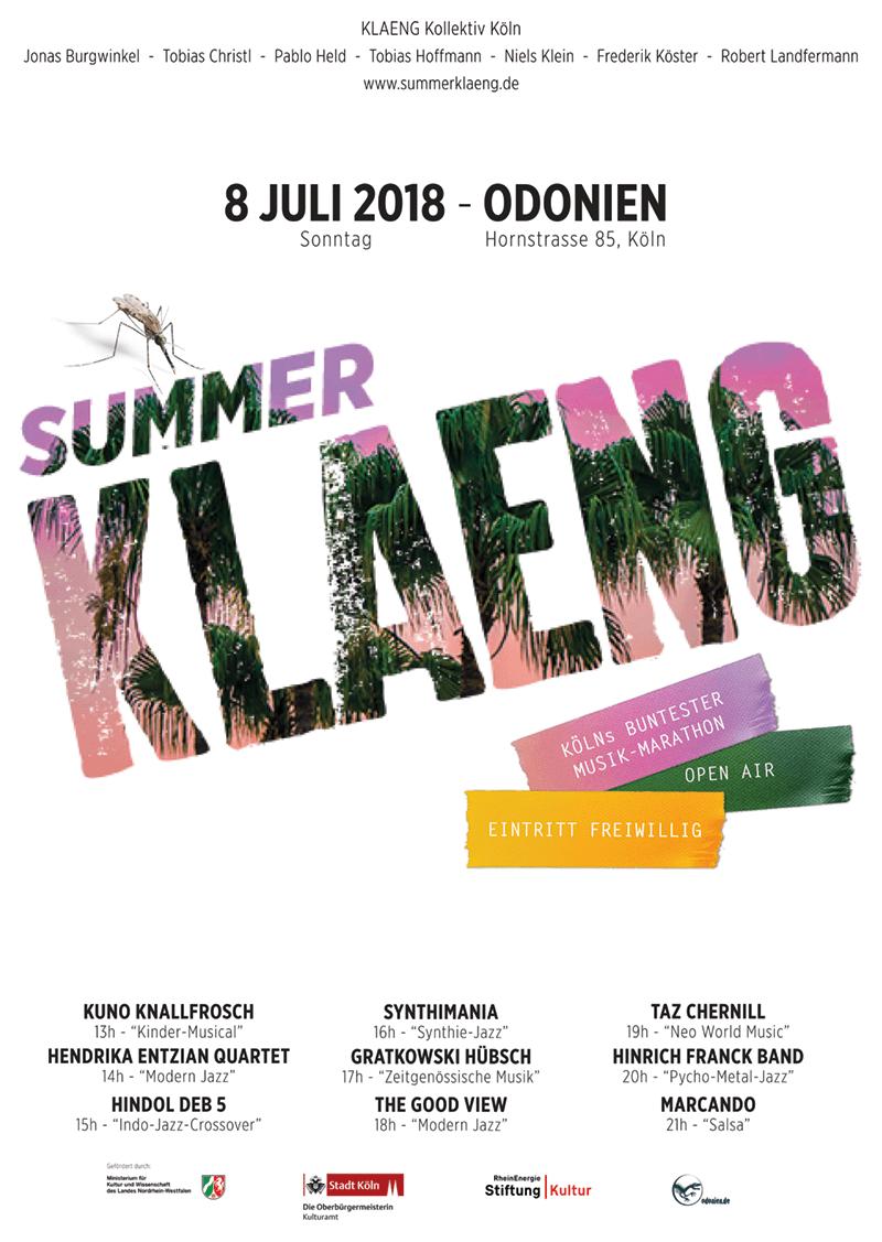 2018_SummerKLAENG_Plakat